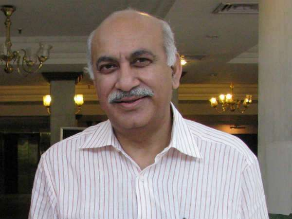 MJ Akbar Minister of State for External Affairs