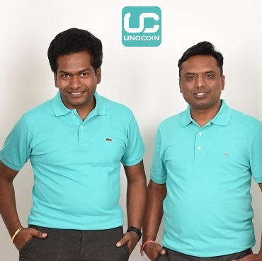 Unicoin's co-founder SathvikVishwananth and BVHarish